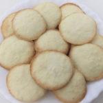 Biscoitos de Coco – sem glúten, leite, ovo e soja