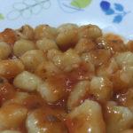 Nhoque – sem glúten, leite e ovo