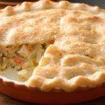 Torta de frango – sem glúten e sem lactose