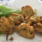 Bolinhos de peixe – sem glúten, leite e soja