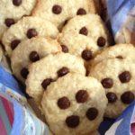 Cookies de coco – sem leite, glúten, ovo e soja