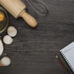 Receitas e medidas de ingredientes