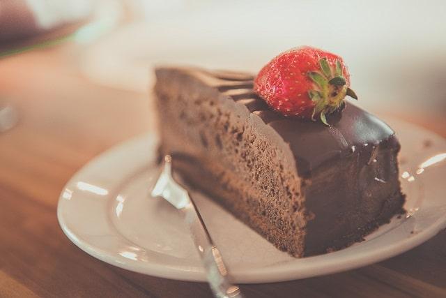 Torta sensação sem glúten e sem lactose