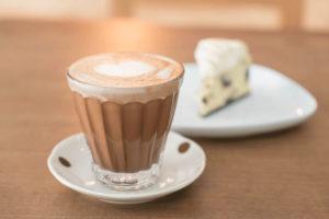 Chocolate quente mentolado sem glúten
