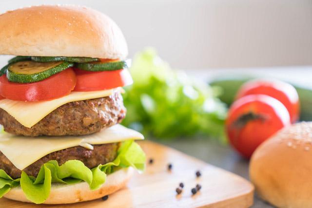 Hambúrguer especial sem glúten e sem leite
