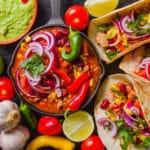 Frango à mexicana