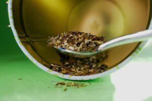 Chá de abacaxi com canela